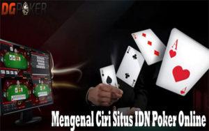 ciri situs idn poker online terpercaya