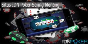 situs idn poker sering menang